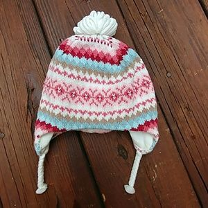 Janie and jack winter hat 0 to 6 mouths